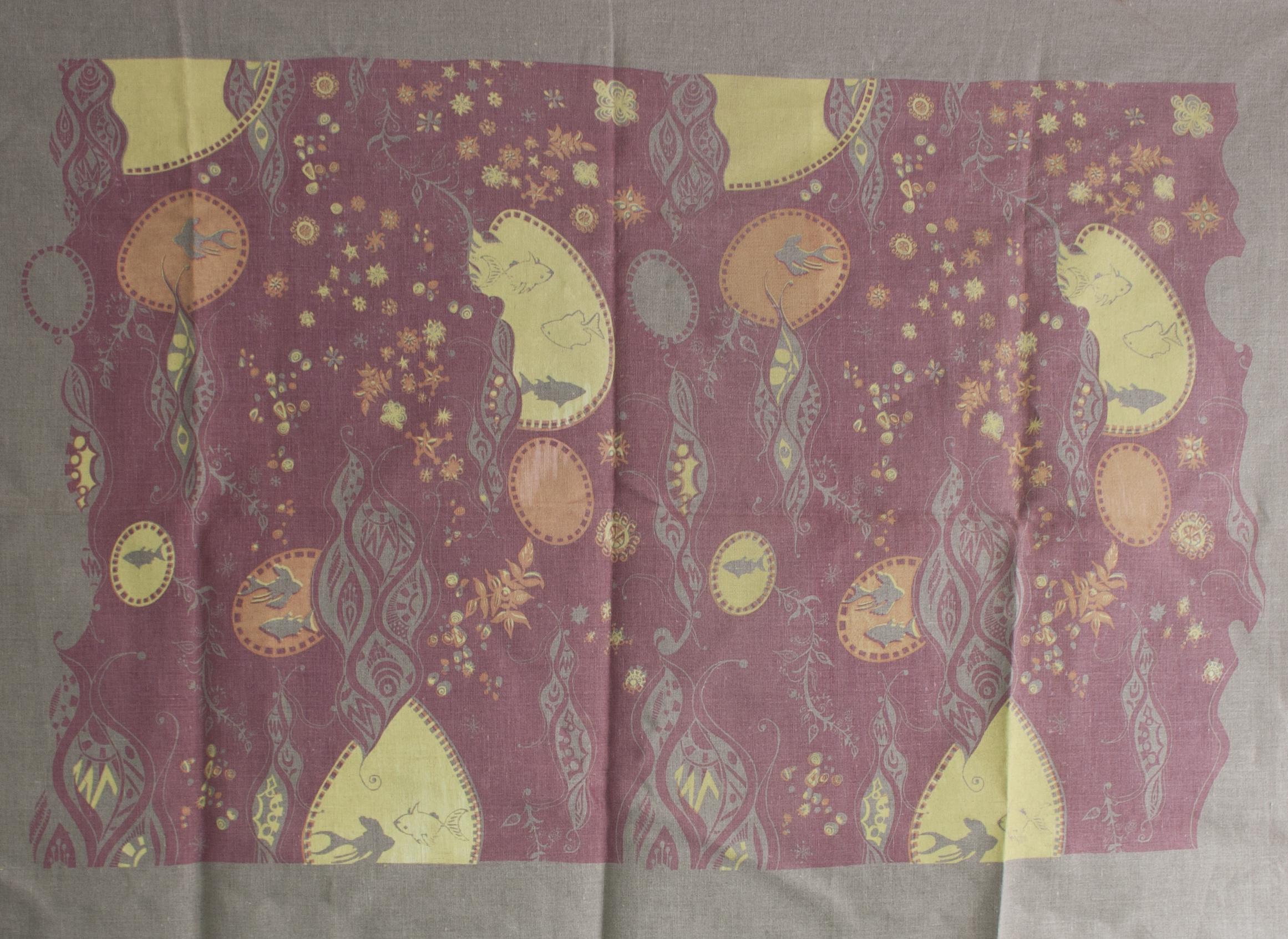 Silkscreen print on Linen  33 x 48 in  2009
