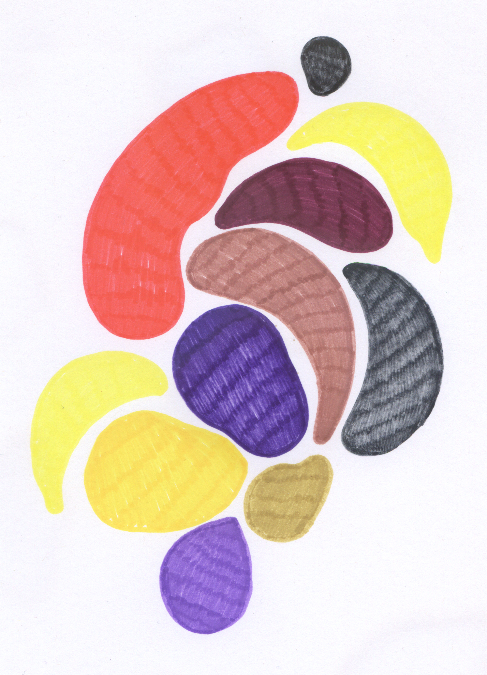 Lemony Imli  Marker on paper 12 x 9 in 016