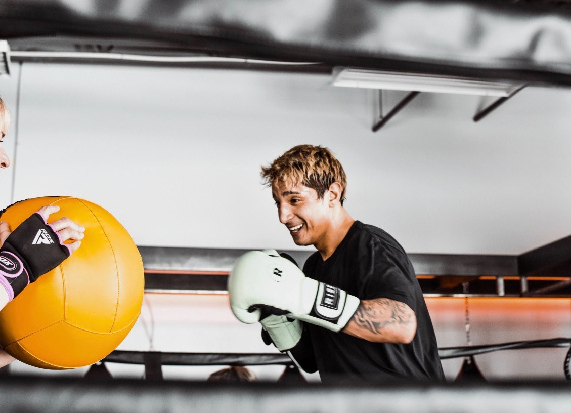 Competitive - This is the real deal. We cover all aspects of boxing from offense to defense, footwork and mindset. Sparring is a part of class but never required. If you want to be a fighter, you've got to train like a fighter! (Pre-requirement: must have taken at least one Body+Box class)* Anyone sparring will be required to be a member of USA Boxing (annual membership is $75) This provides additional insurance and allows you to compete if interested. Click Here to start your USA Boxing Membership.