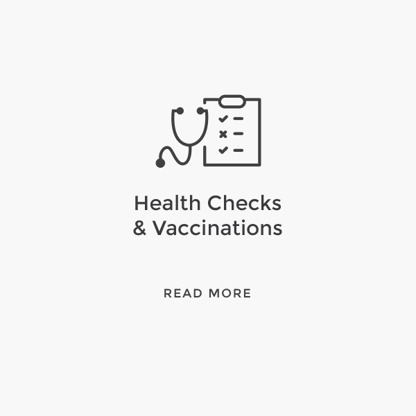 Health Checks & Vaccinations    Read More