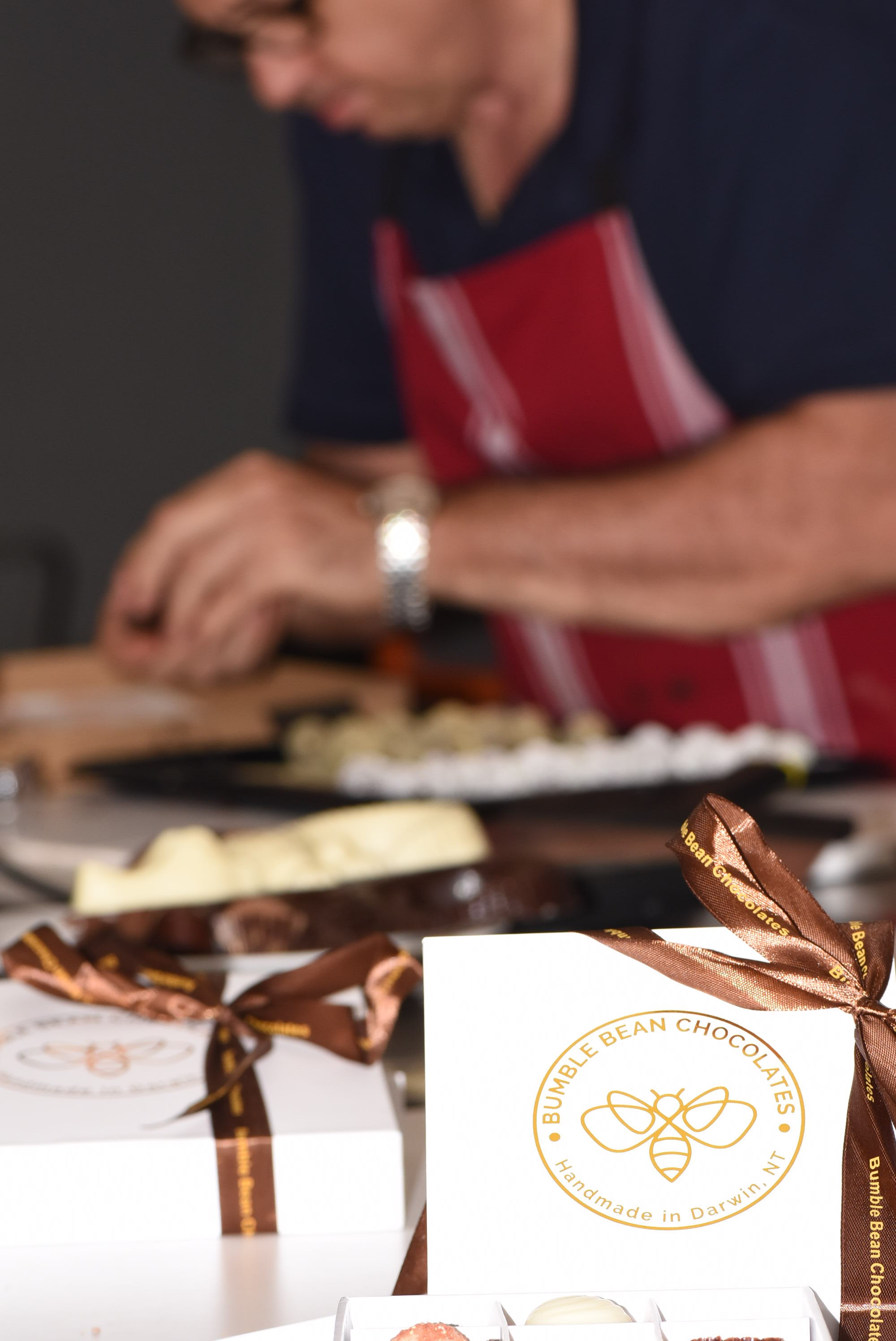 The man behind the chocolate - Head Chocolatier Leo Cleanthous