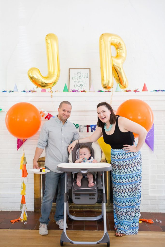 first birthday party 9