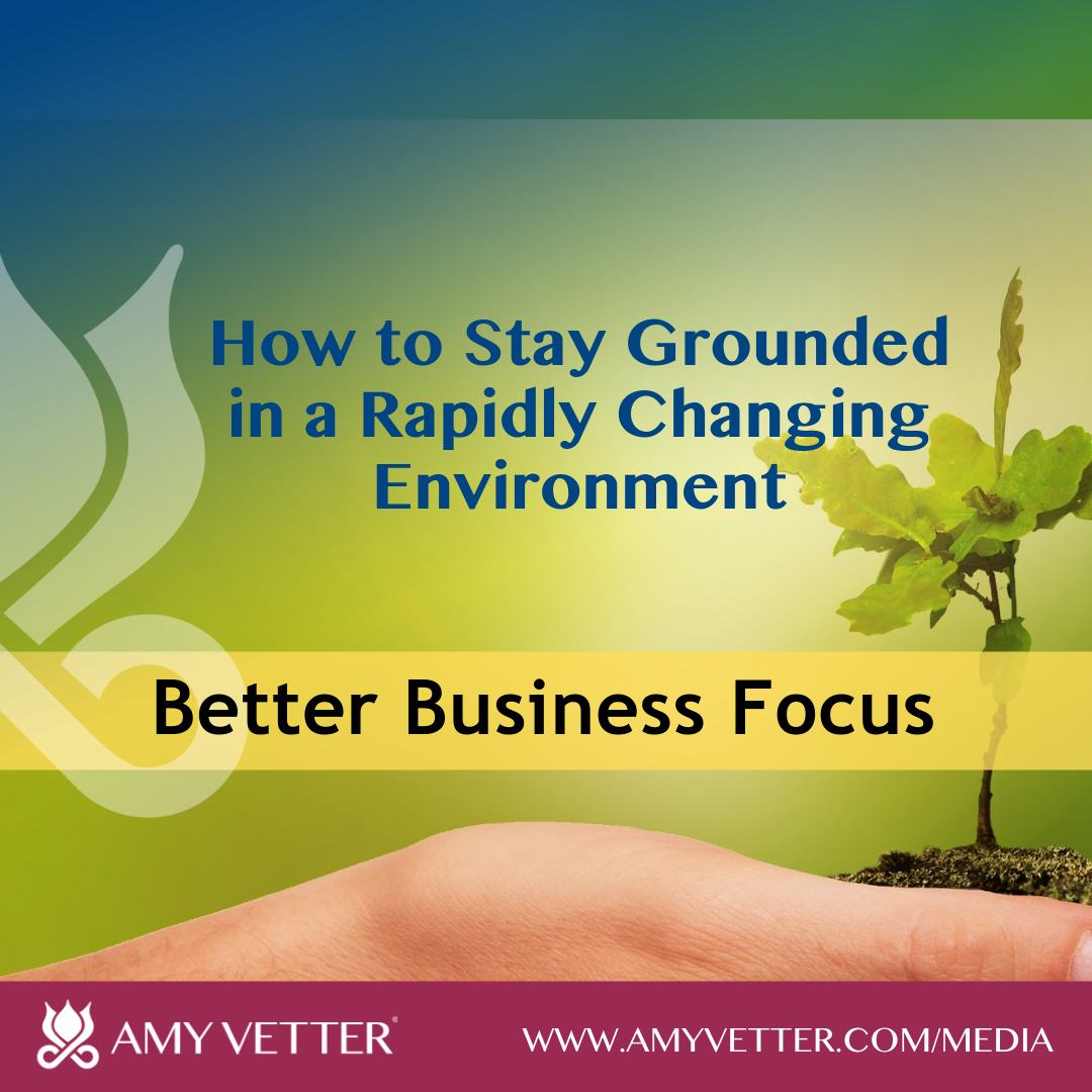 How to Stay Grounded in a Rapidly Changing Environment
