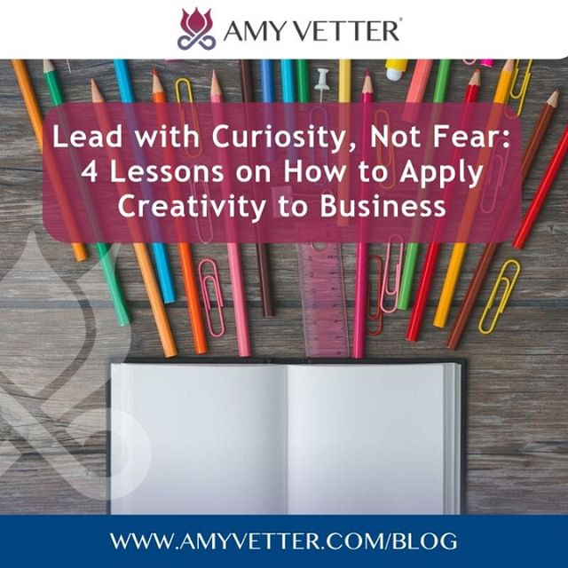 Lead with Curiosity, Not Fear: 4 Lessons on How to Apply Creativity to Business⠀ ⠀ There is a lot of similarity between business and creativity.⠀ ⠀ Building a small business means bringing ideas to life, creating something new, and putting it out there for people to react. It also means having to constantly overcome self-doubt, criticism, and frustration. The process is the same for any type of creativity whether it's art, music, writing, or any other form of self-expression.⠀ Subscribe to my Blog: www.amyvetter.com/blog⠀ #businessbalancebliss #cherishedadvisor