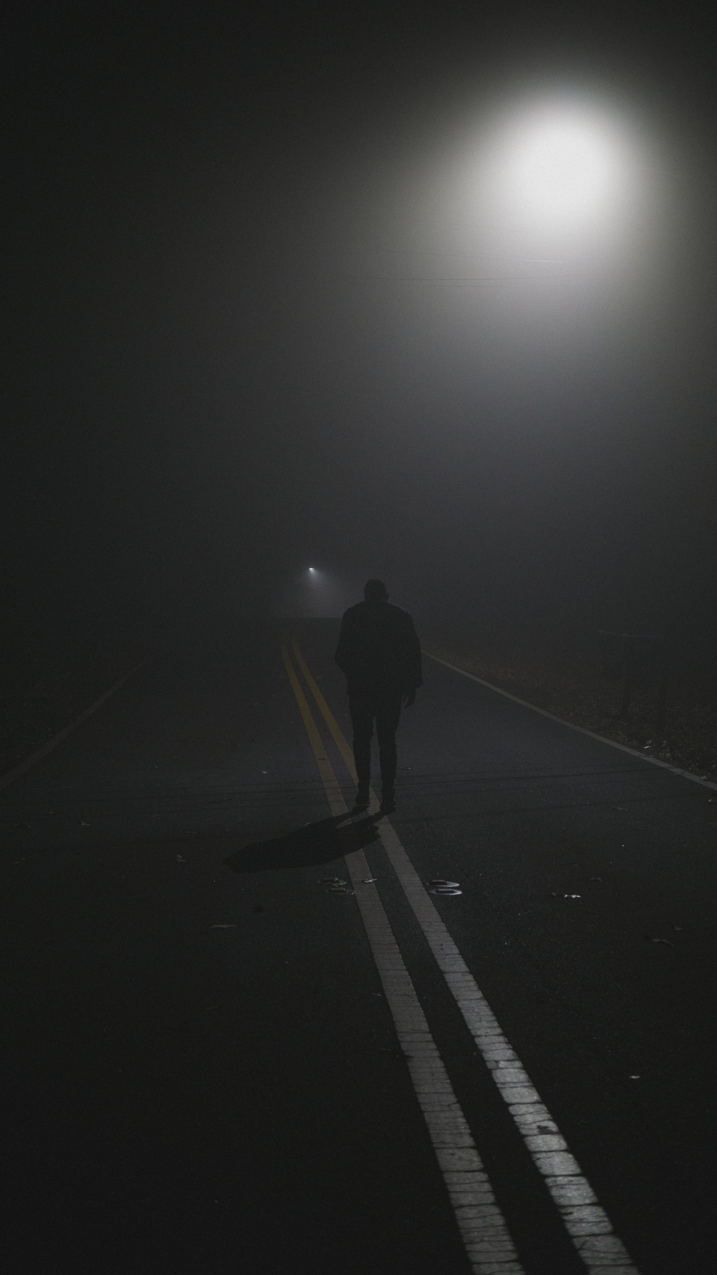 Foggy Streetlight $25