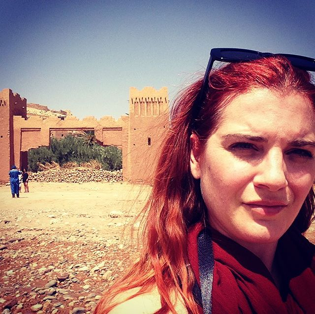 The Last Temptation of BUMESI : Kasbah of Ait Benhaddou. It's hot as f*** here! 🌞😅😎#scorsese #morocco @kasbahaitbenhaddou #bumesitravels