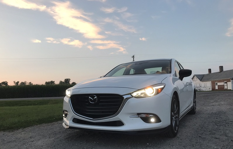 Roaming Michigan in this sedan is a smooth ride, and stopping along the way to take photos of random farms was a must-do.