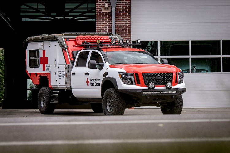 The Ultimate Service Titan can be a mobile help station or hub in disaster situations.