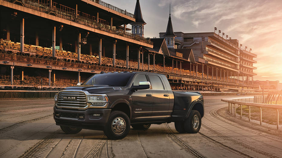 """This hardworking truck is packed with exclusive technology, luxury and good looks that make it fit to wear the Kentucky Derby name."""