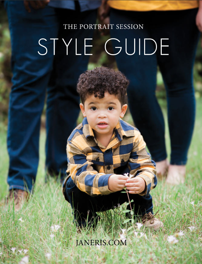 style Guide-Janeris-Studios