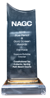 National Association of Government Communicators, Blue Pencil and Gold Screen Award, Most Improved Publication