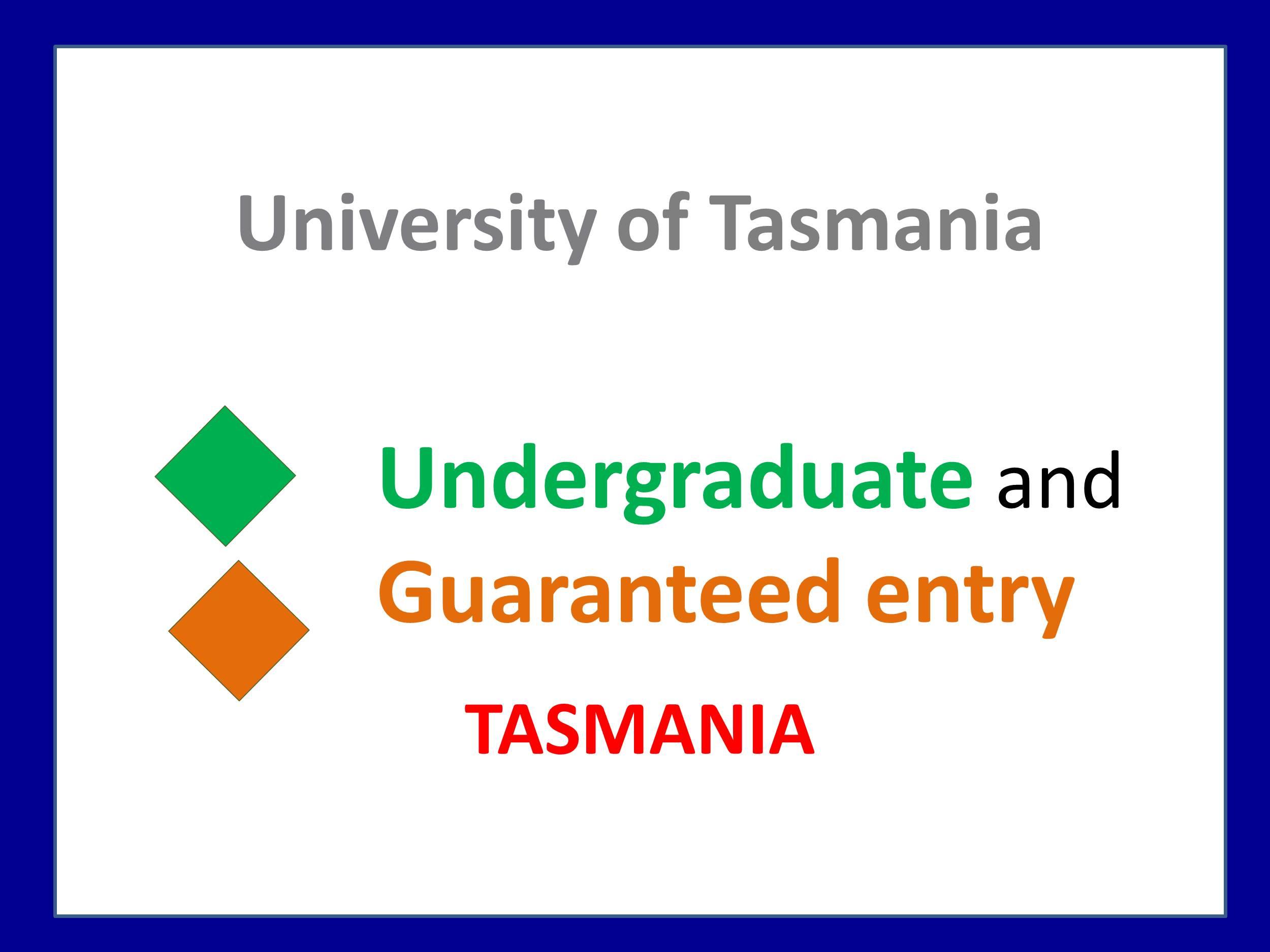 University of Tasmania medicine