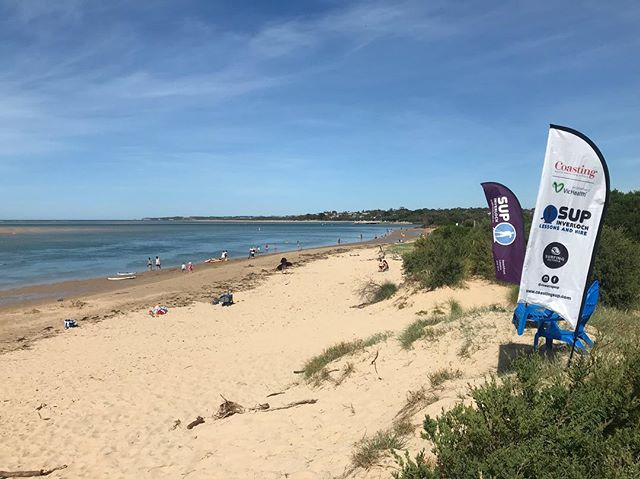 We've got another group lesson at 8:00am tomorrow! Looking for numbers so let us know if you're interested!! #inverloch3996 #standuppaddleboarding #inverlochsup #inverloch