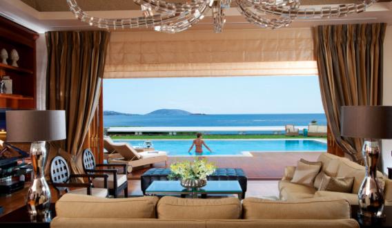 The Royal Villa, Grand Resort Lagonissi in Athens.