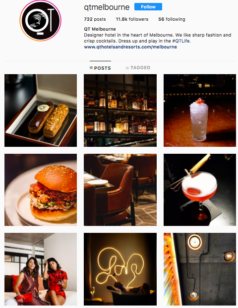 Instagram - And again well done for a fantastic management of the Instagram channel. The images are well thought with much consistency that aligns with the brand. They are stylish and 'Instagram-worthy'.