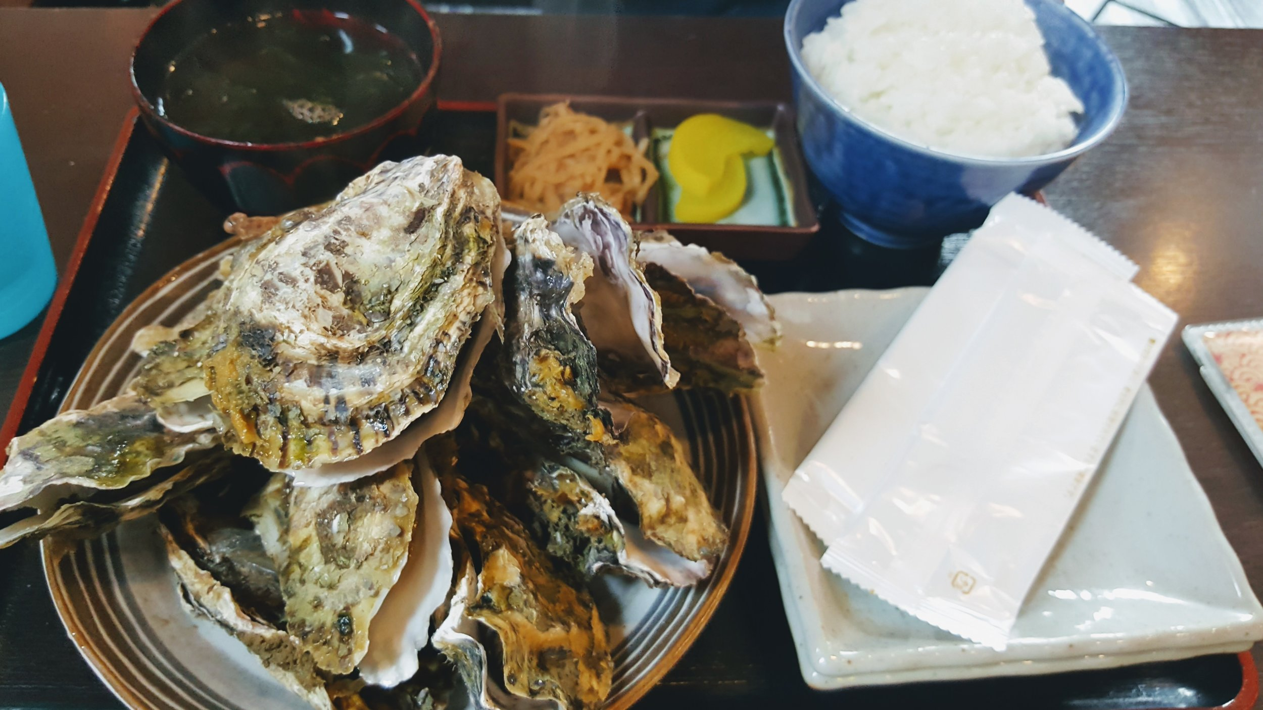 Matsushima Bay - Famous for its gigantic oysters