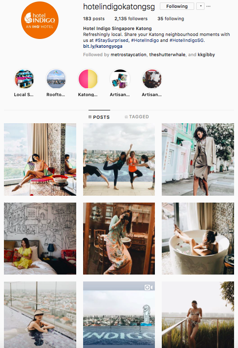 Instagram - I love how they have kept the same filter for their posts to give off a consistent look and feel. It portrays vintage yet vibrant and definitely appealing to female demographics. Well done and you have earned my 'follow' and 'like'!