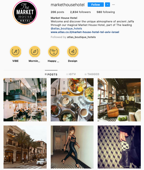 Instagram - Fortunately their Instagram content and filters are done right, very insta-worthy of a boutique hotel. Well done!