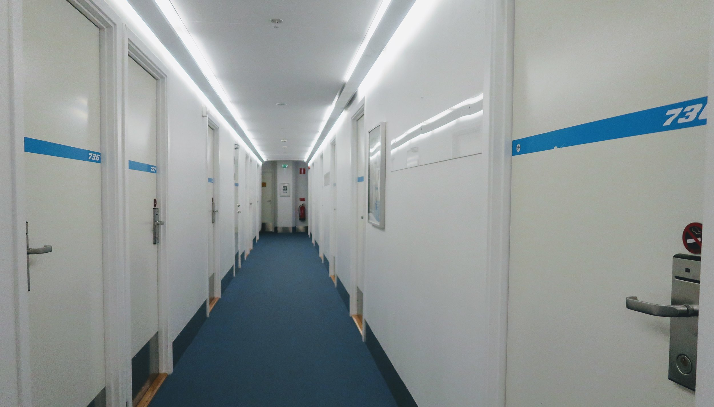 Other rooms along the corridor.