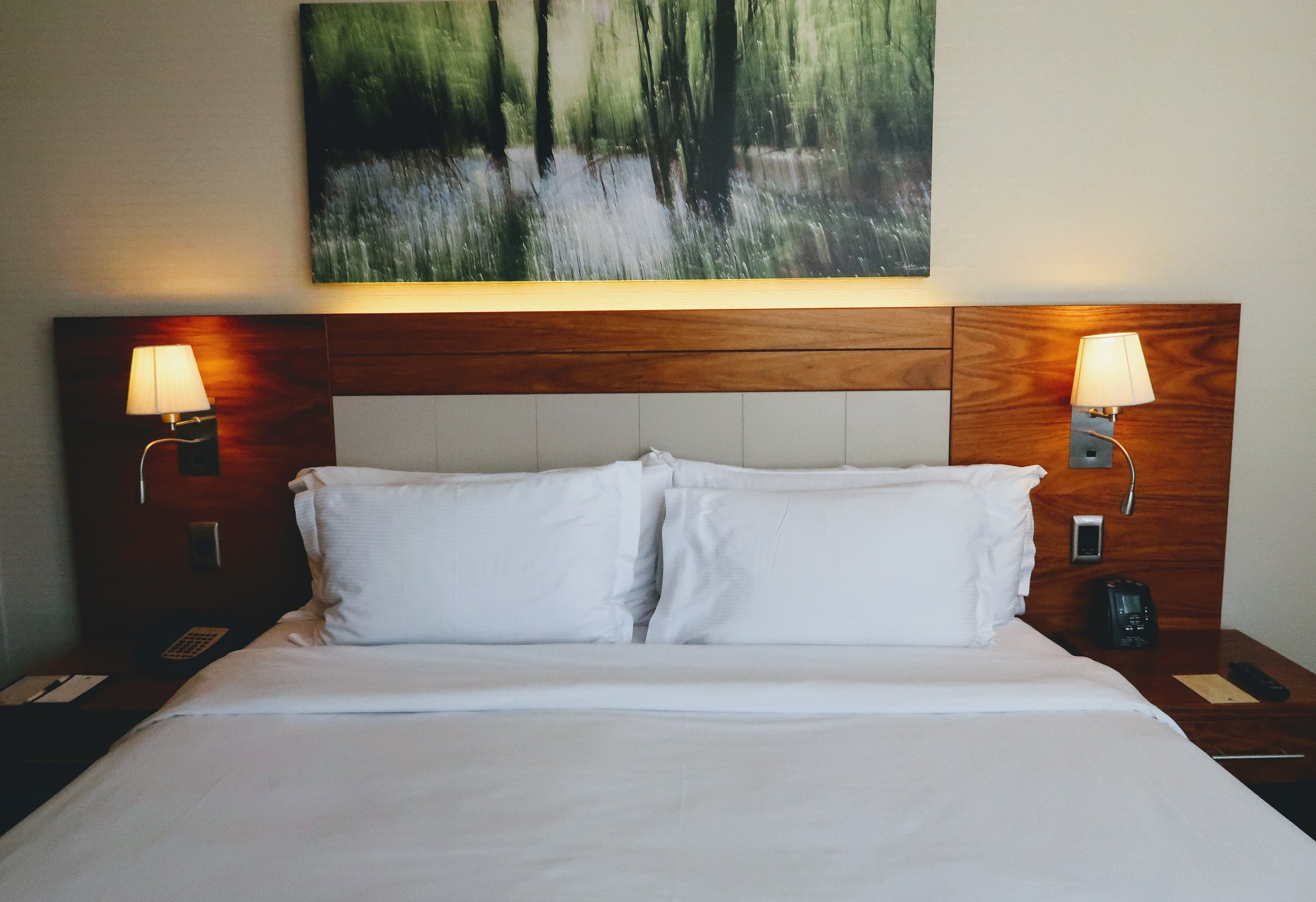 Sweet Dreams® by DoubleTree signature bed.