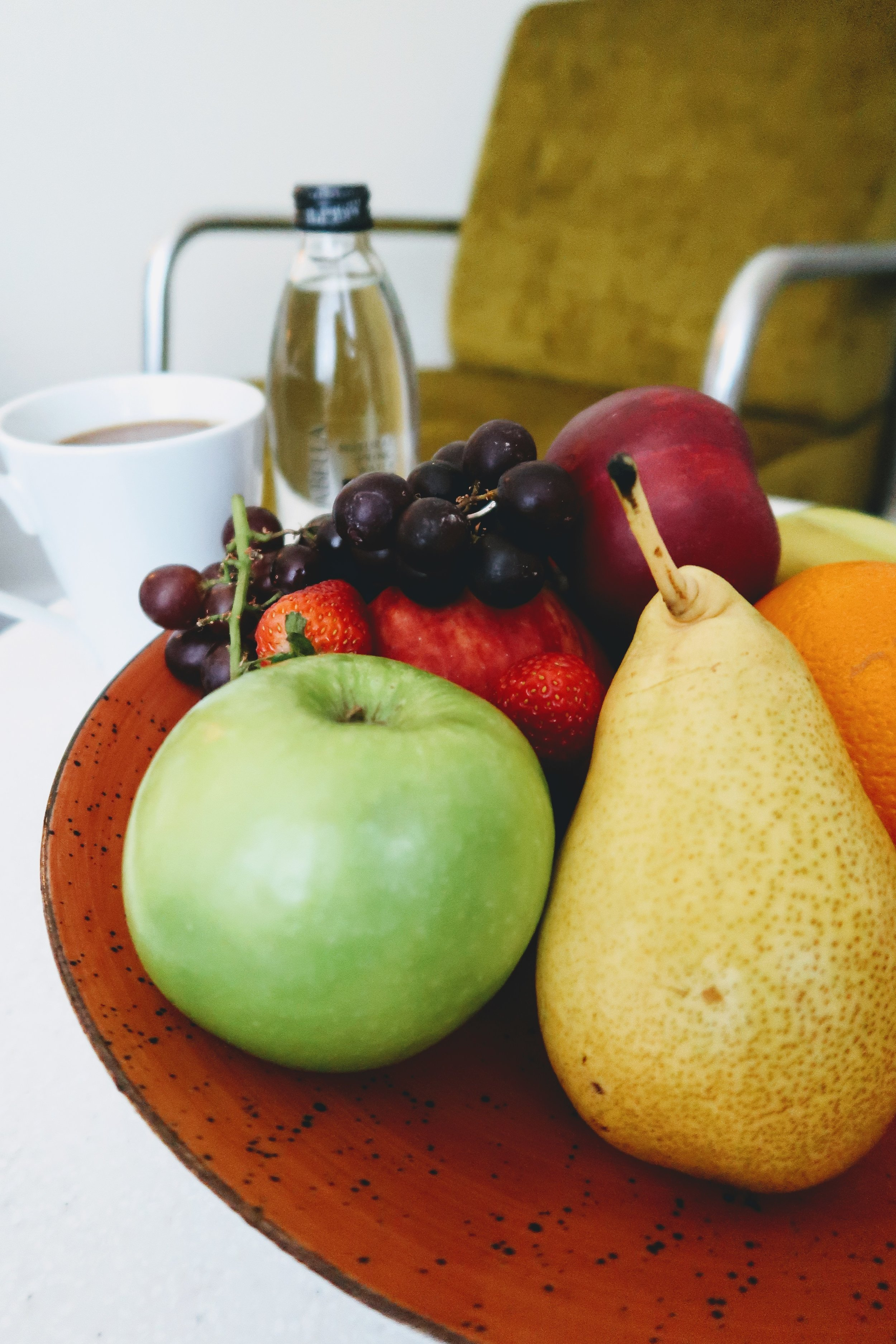 Welcomed with a VIP amenity of fruit platter.