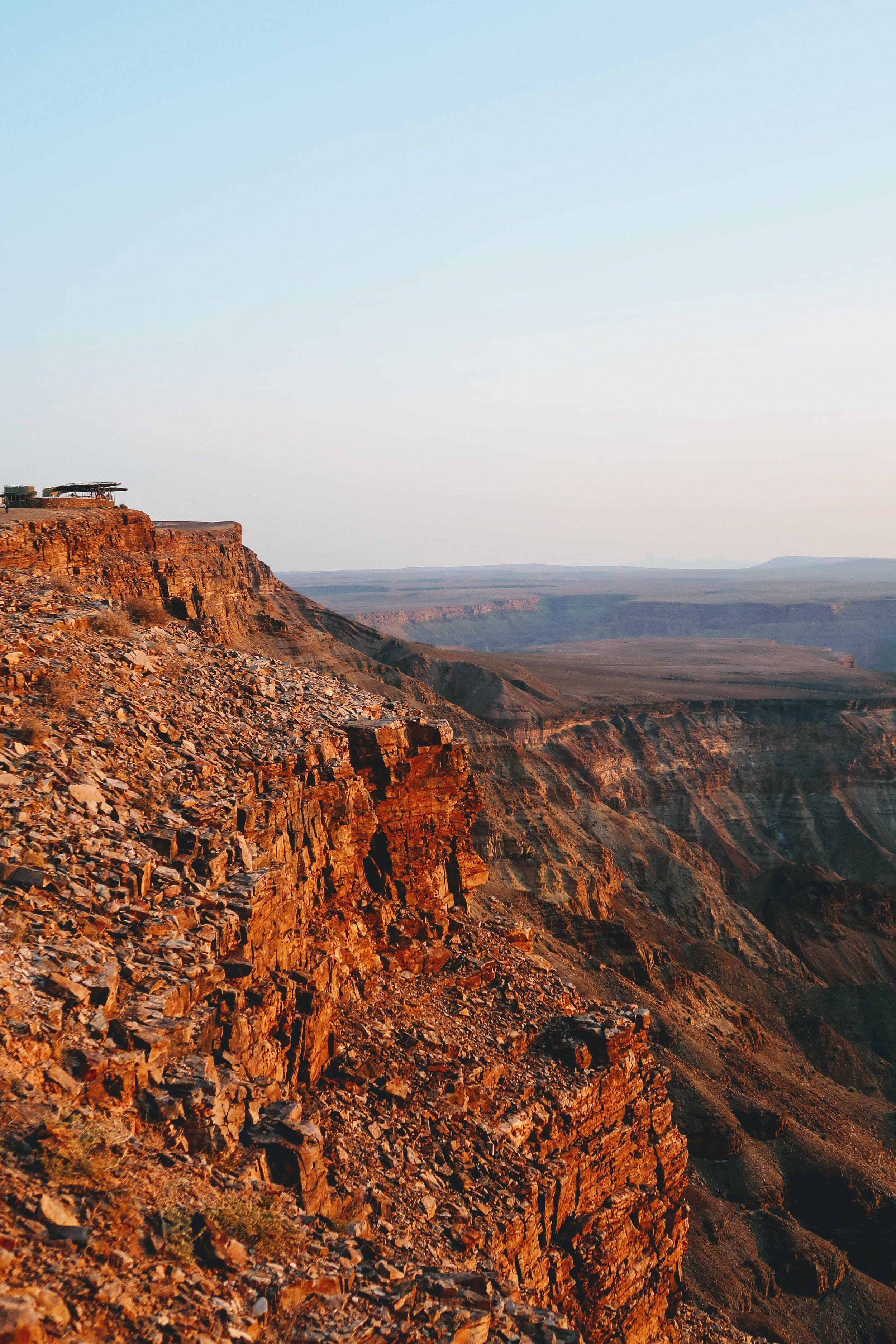 sunsest-fish-river-canyon-namibia