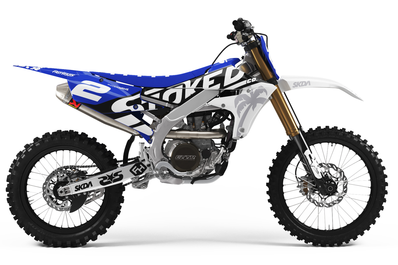 yamaha blue full graphics kit -