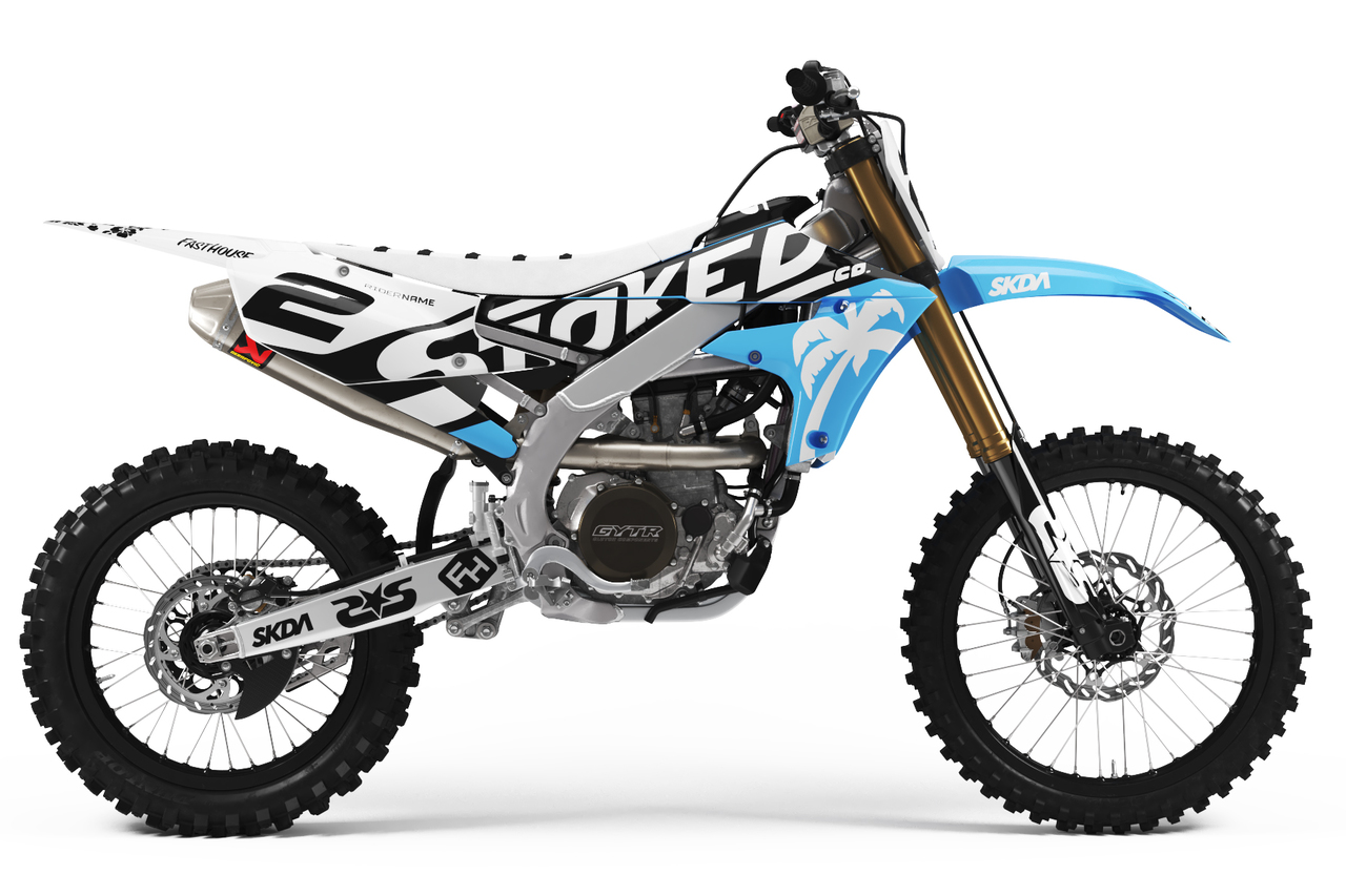 yamaha cyan full graphics kit -