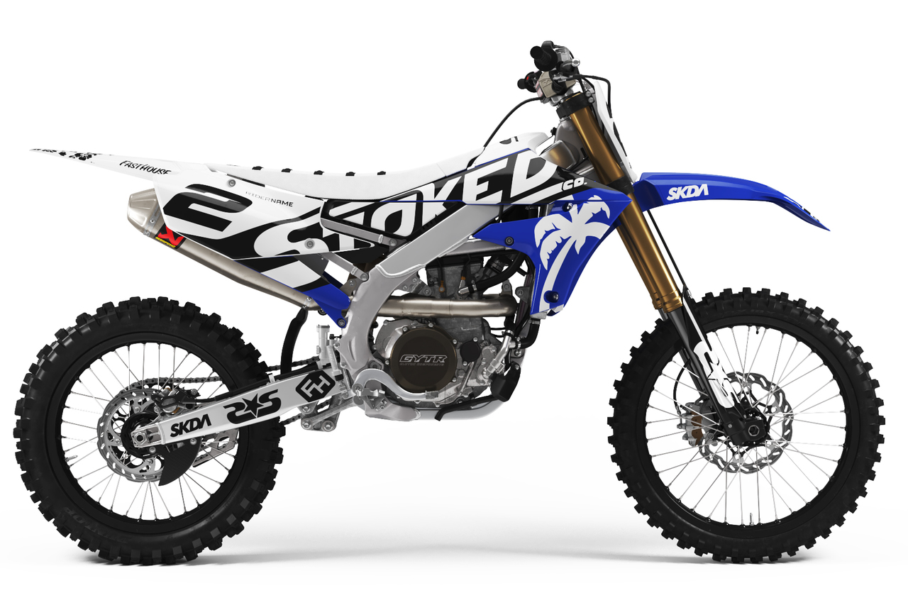 yamaha white full graphics kit -
