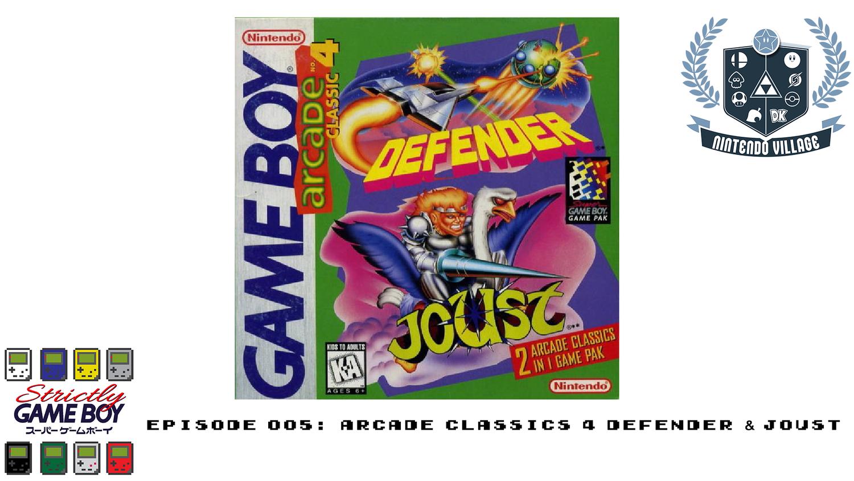 Episode 005: Arcade Classic 4 Defender & Joust