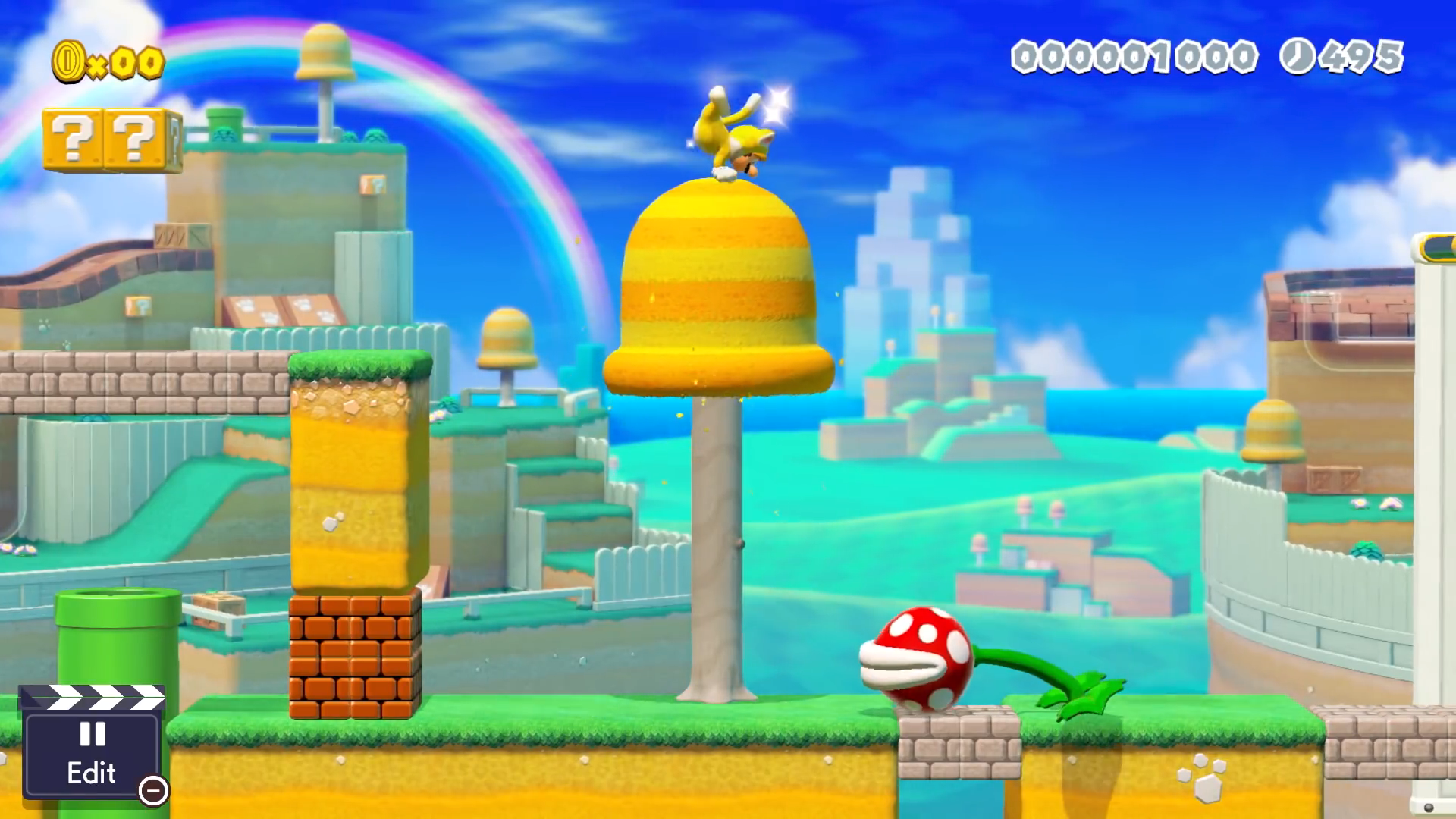 Super Mario 3D World Maker  could be a game all to itself