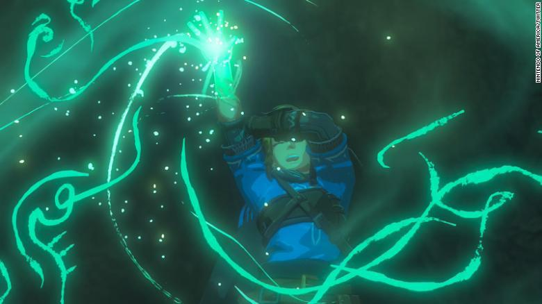 Link's arm seems possessed in this shot from the trailer…