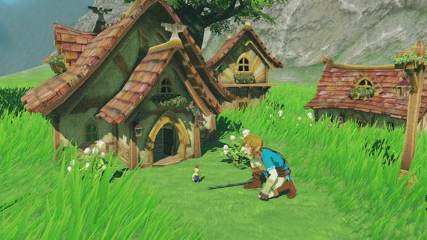 The Minish were cut from the first game, but maybe we'll see them in the sequel
