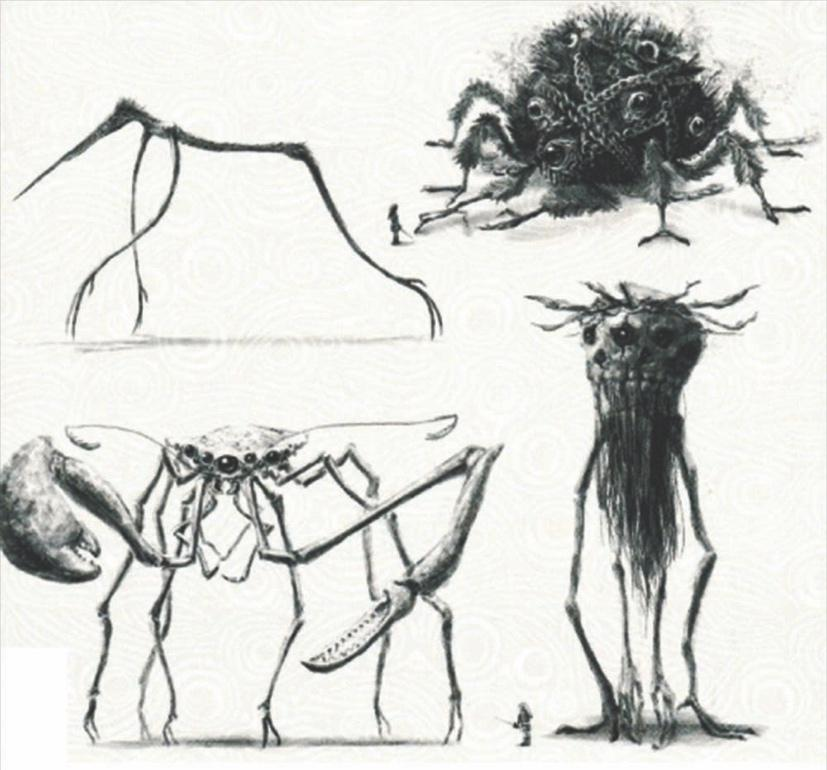 The terrifying Lovecraftian Guardian designs could make for some creepy additions to  Breath of the Wild 2.