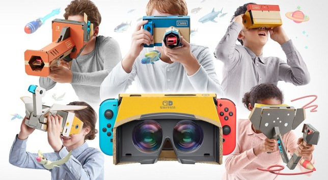 Perhaps a  Labo StarFox VR  could give the series something new to entice us?