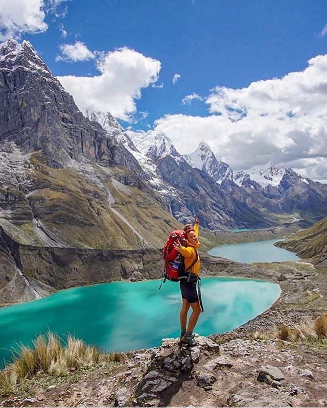 It's easy to see why we're SO EXCITED to return to Peru on September 4th! 🏔 These photos of Huay Huash are stunning, but the real thing blows them away. . It's adventure time. 💛 #mundoadventures . 📸: @nordic_anne