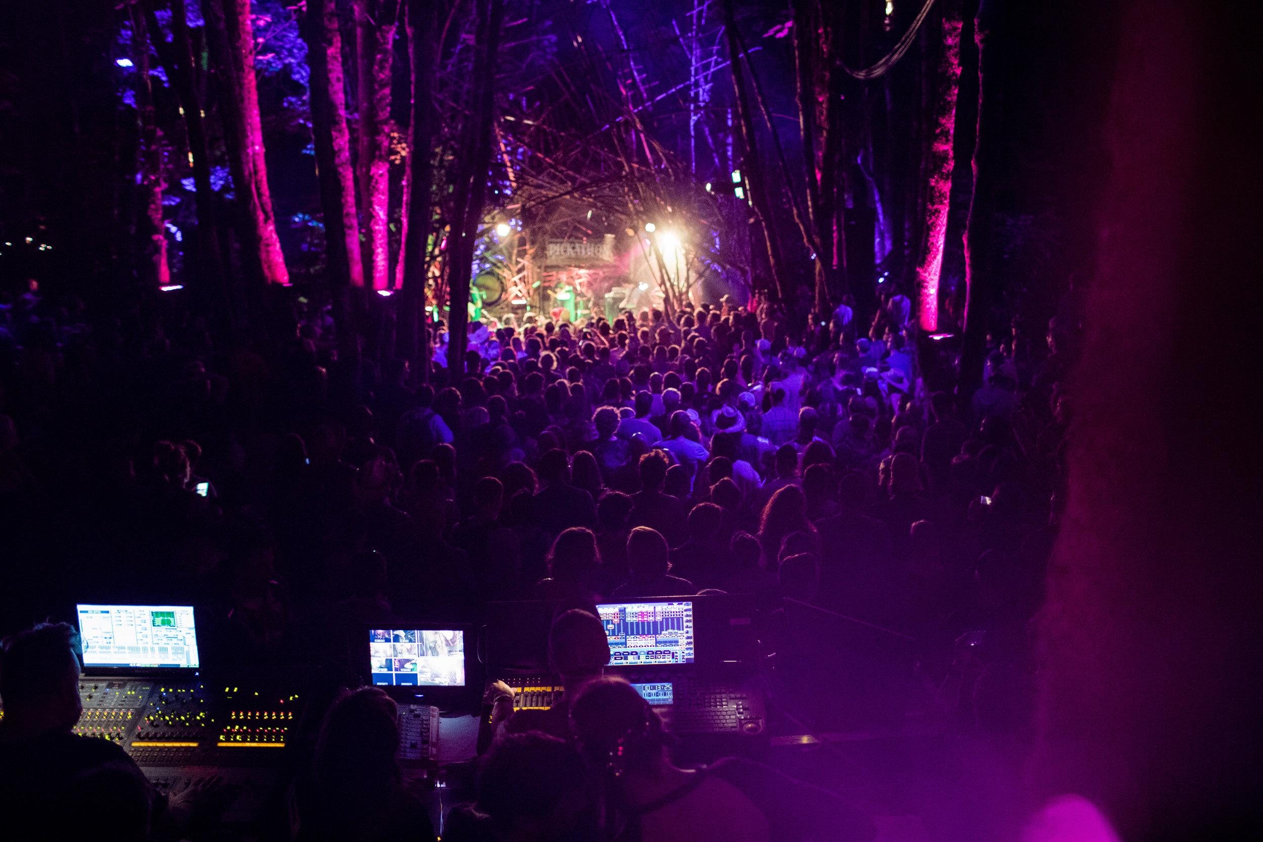 Woods Stage; photo courtesy of Pickathon