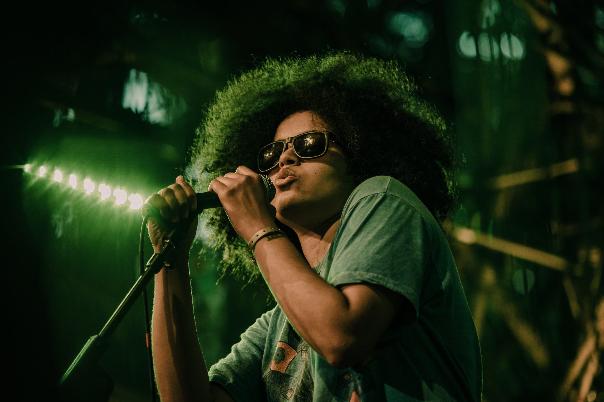 Sneaks; at the Woods Stage