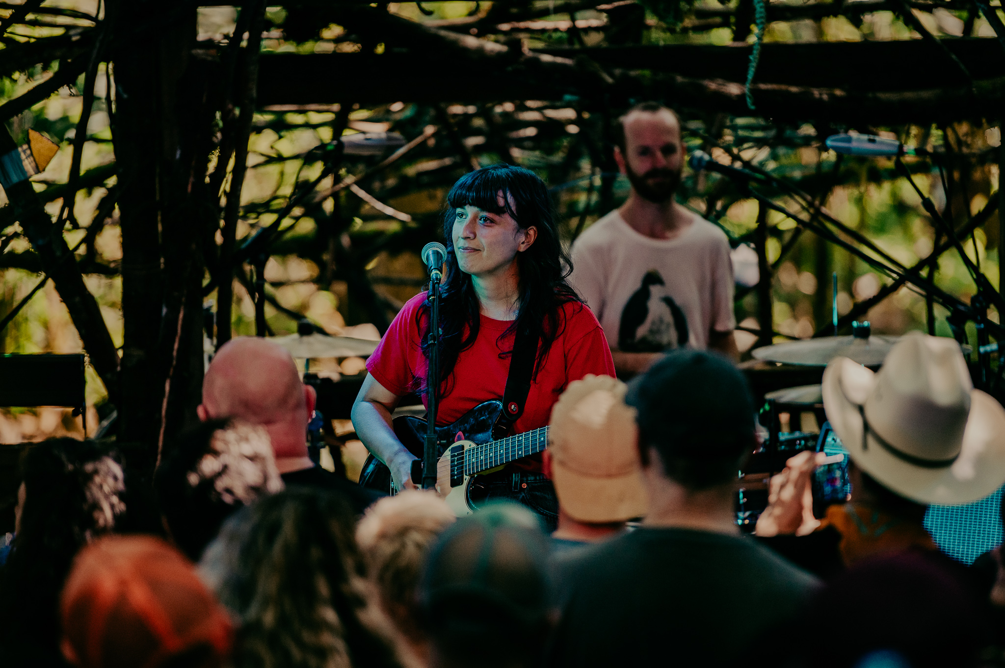 The Beths; at the Woods Stage