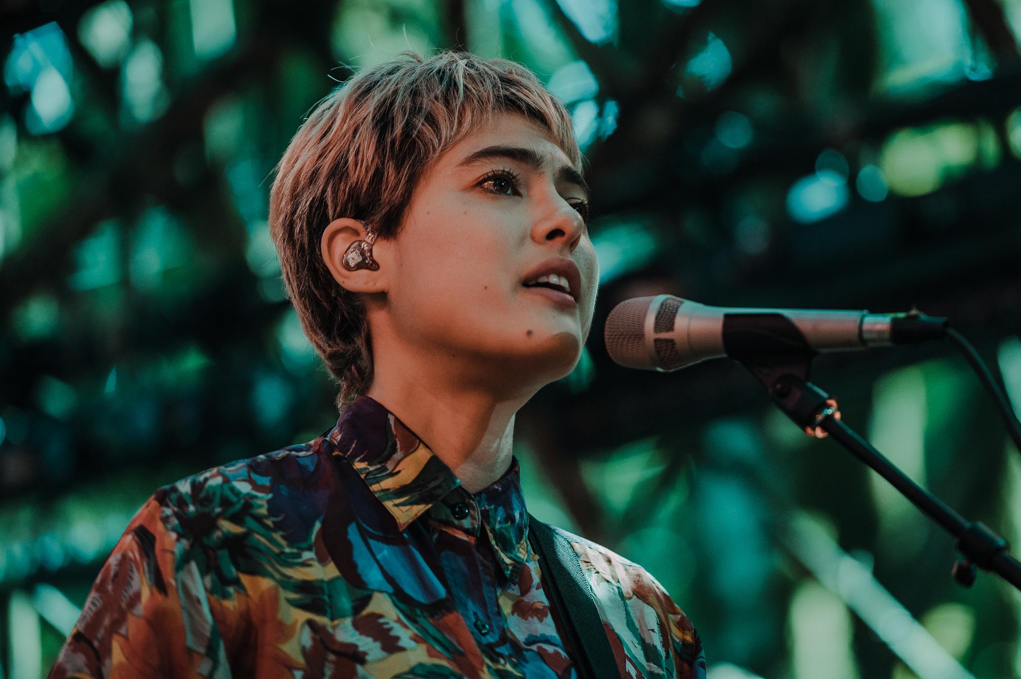 Miya Folick; at the Woods Stage