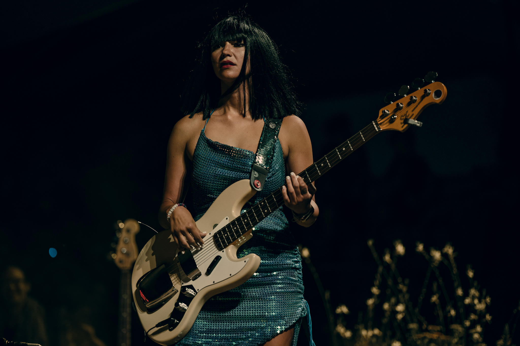 Khruangbin; at the Mt. Hood Stage