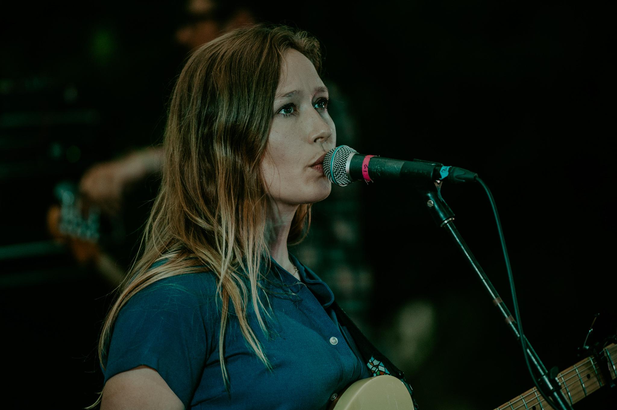 Julia Jacklin; at the Treeline Stage