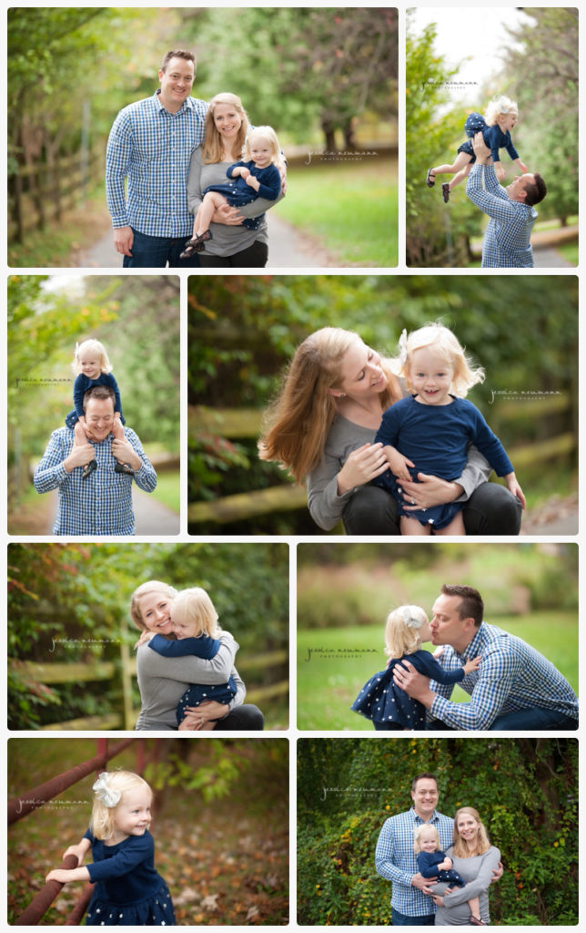 outdoors fall family session