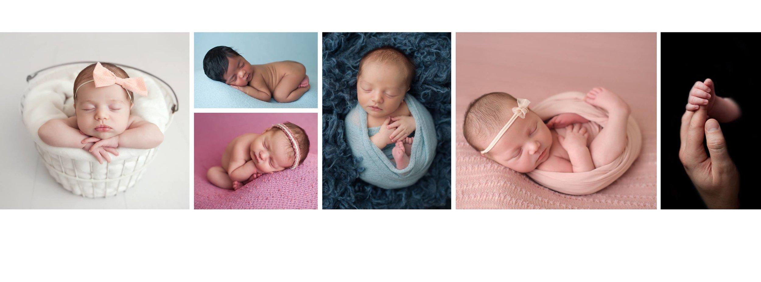 Brand New Beautiful Newborns Photographed in Maryland