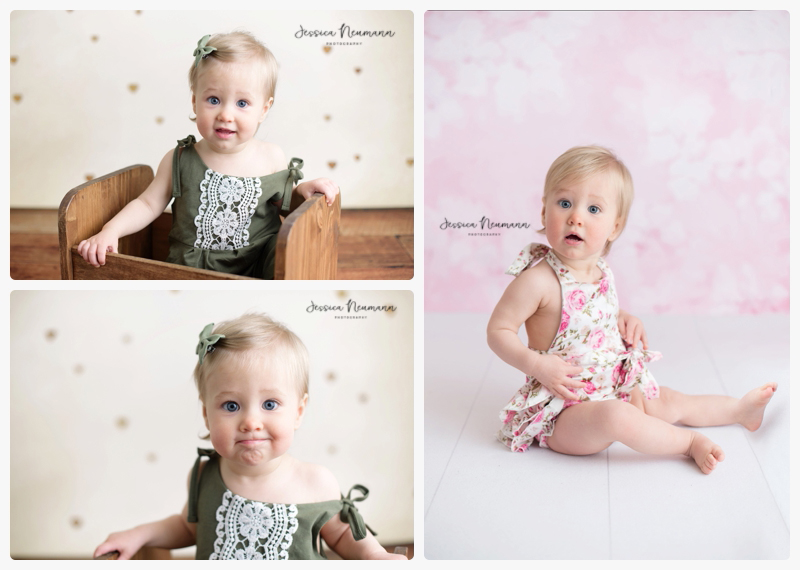 one year old studio photographer