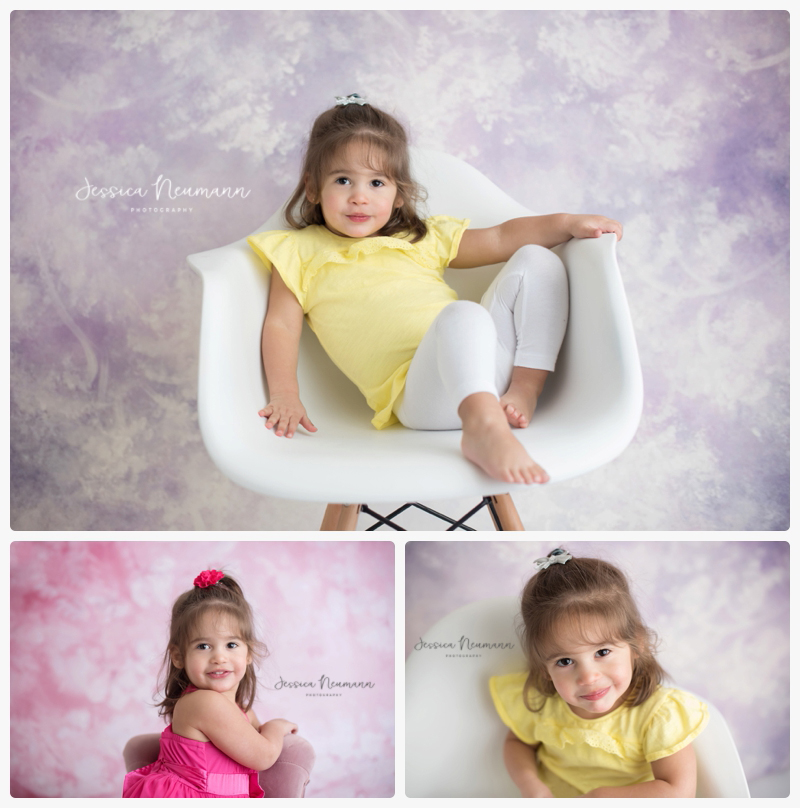 2 year old in studio
