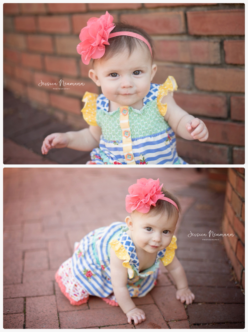 6 month baby in downtown frederick