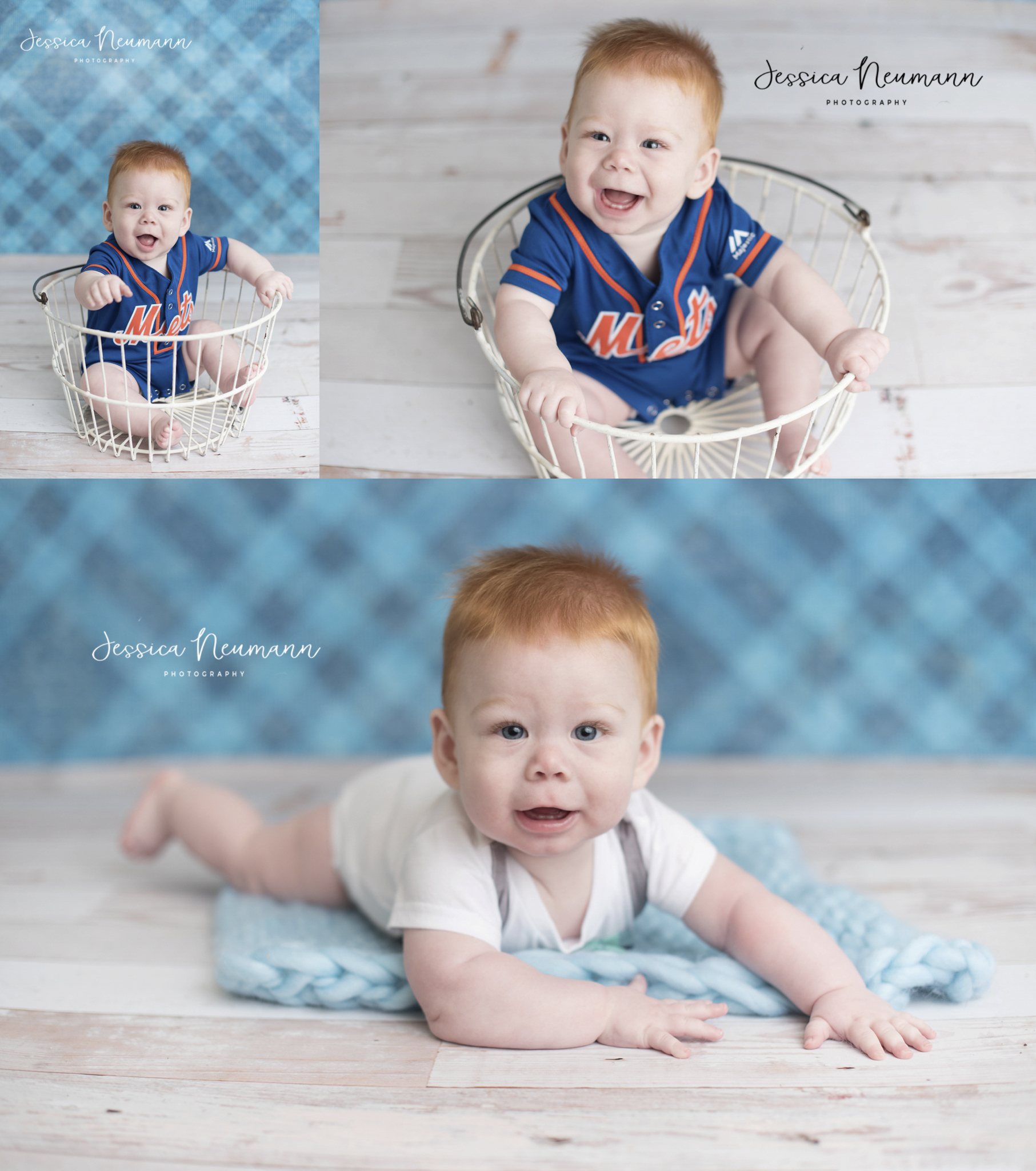 red hair baby 6 months