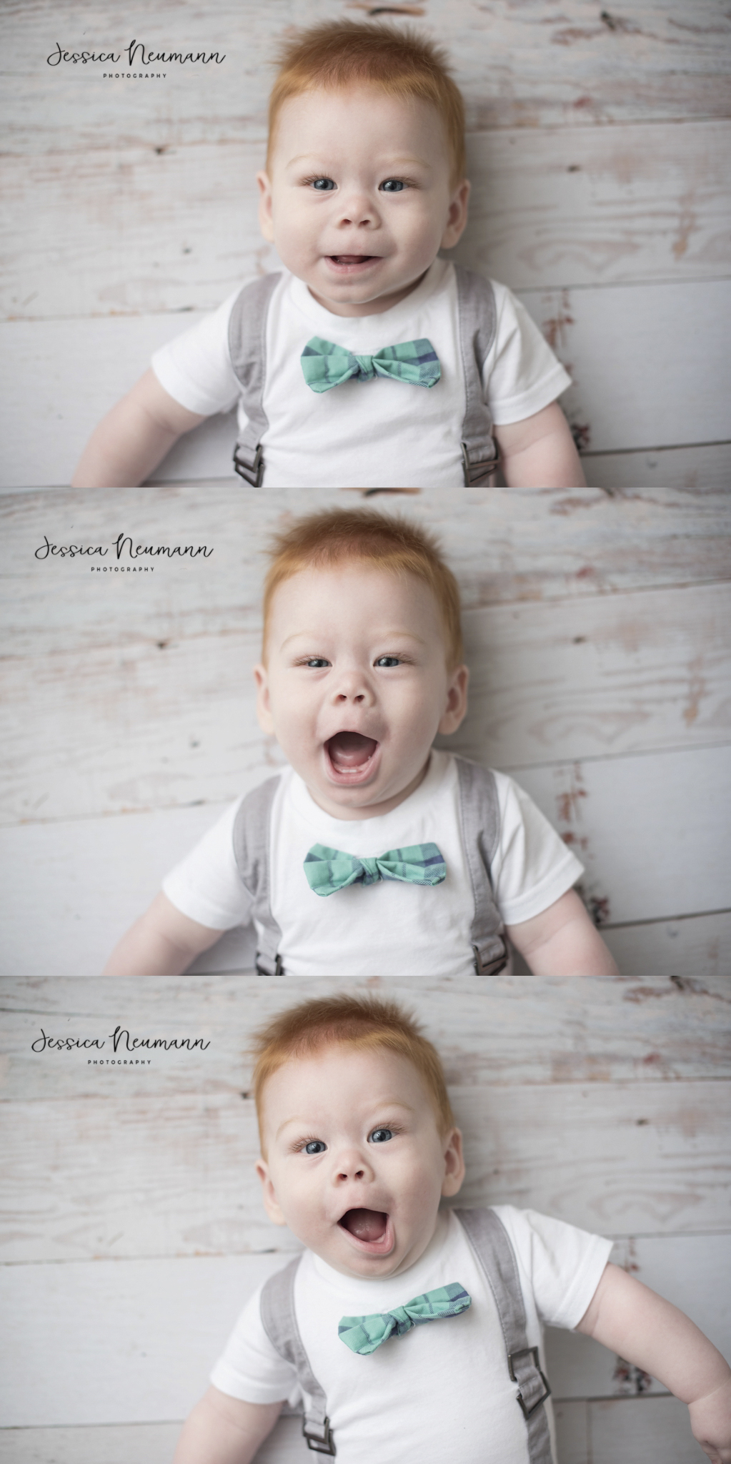 6 month funny faces