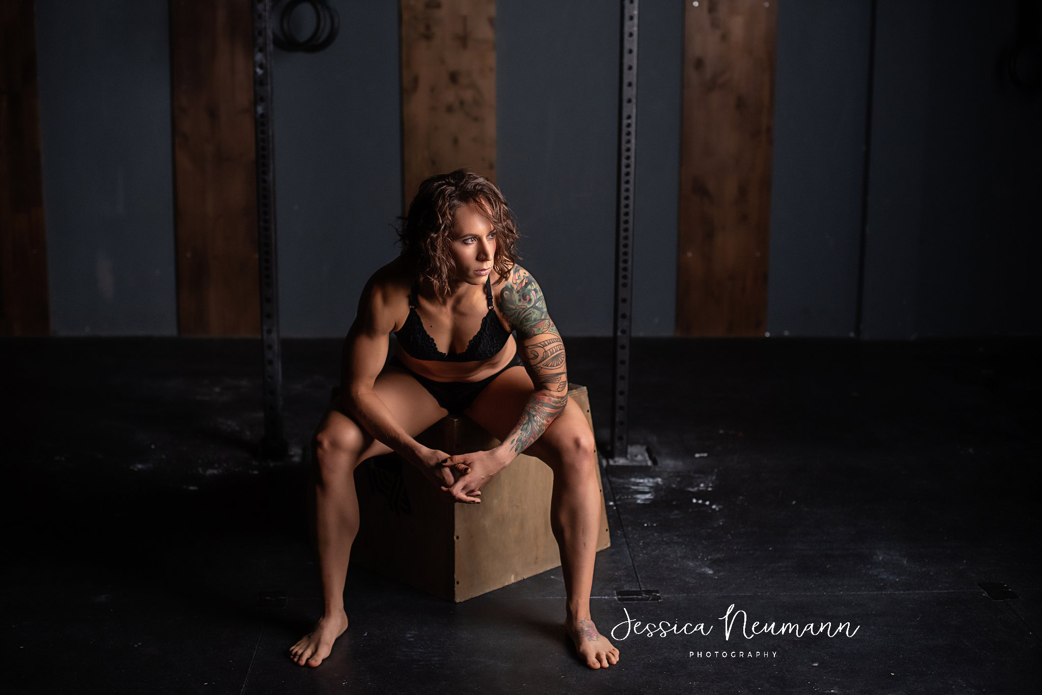Fitness Boudoir photographs in Frederick, MD